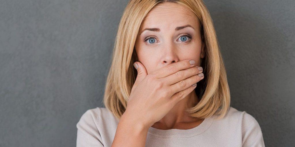 Bad breath in menopause