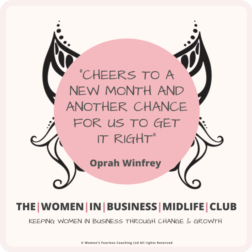 New Month Quote from Oprah Winfrey