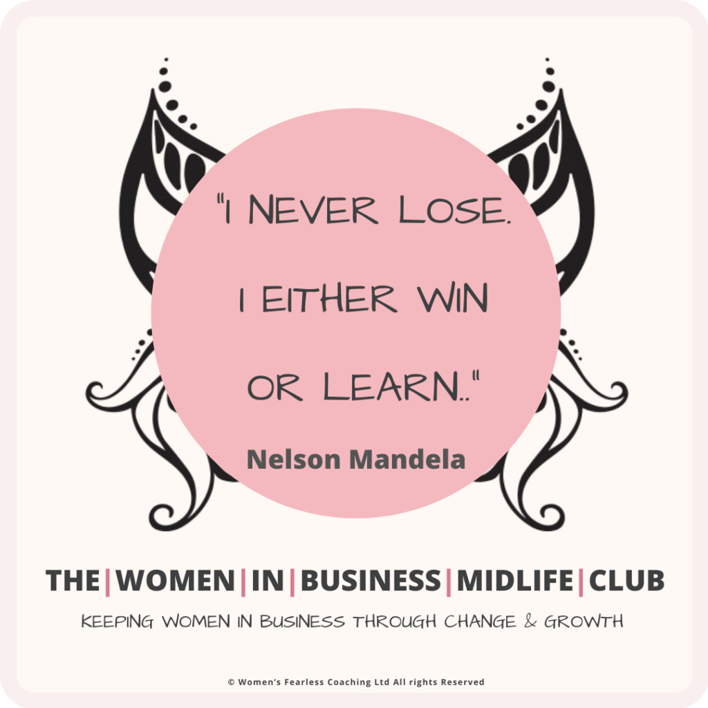 Win or Loose Nelson Mandela