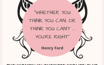 Whether you think you can quote by Henry Ford.