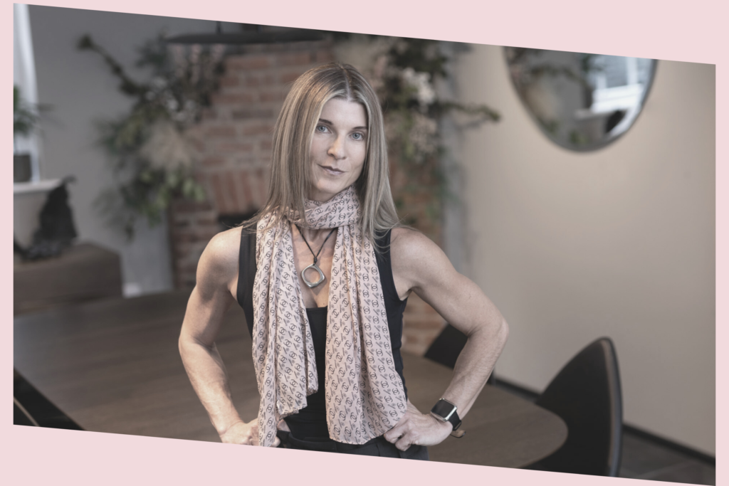 Adelle Martin leading through a new type of change the menopause